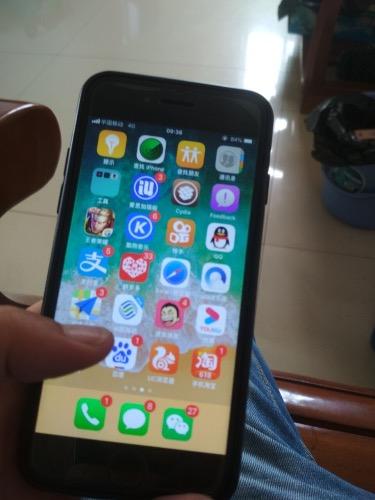 上个星期在网上750买的二手苹果6,64G,现在想600转了,除了电池不耐用其他还行