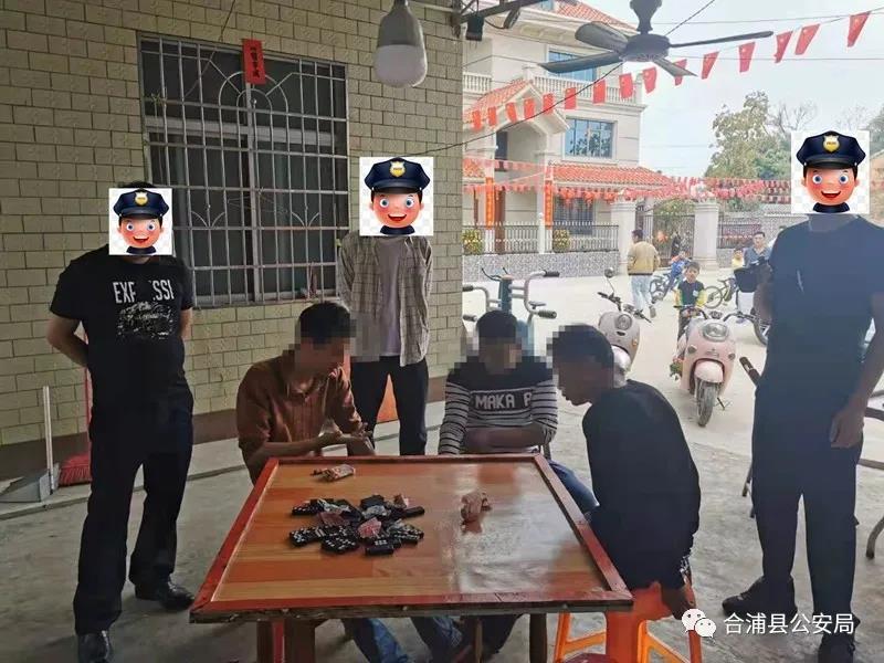 合浦公馆民警抓赌时被围殴,原因竟是......