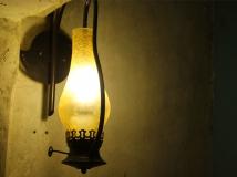 槐园夜吊灯