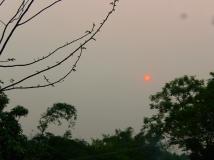丰门岭夕阳